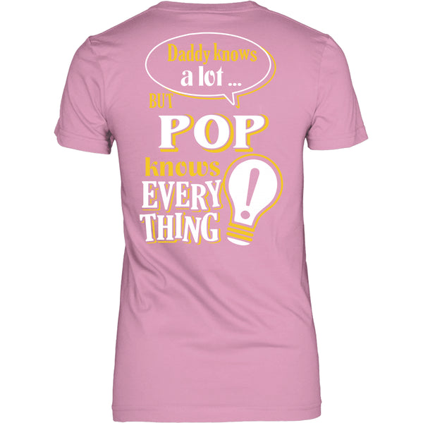 Pop Knows More T-Shirt -  Pop Shirt - TeeAmazing - 22