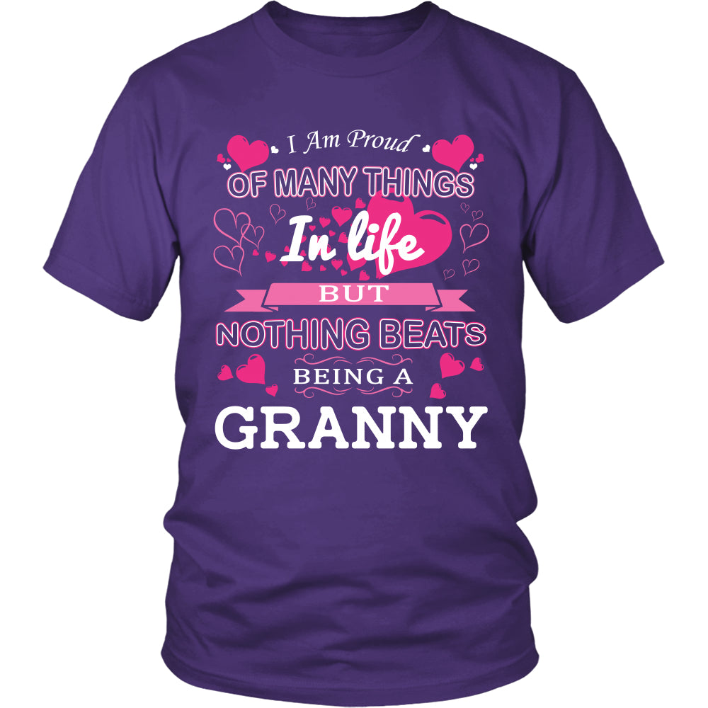 Nothing Beats Being a Granny T-Shirt - Granny Shirt - TeeAmazing