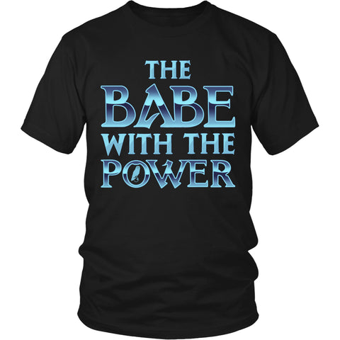 The Babe With The Power T Shirts, Tees & Hoodies -  Labyrinth Shirts - TeeAmazing
