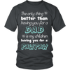 My Children Having You For A Pawpaw T Shirts, Tees & Hoodies - Grandpa Shirts - TeeAmazing - 4