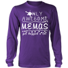 Only Awesome Mema Get Hugged A Lot T-Shirt -  Mema Shirt - TeeAmazing