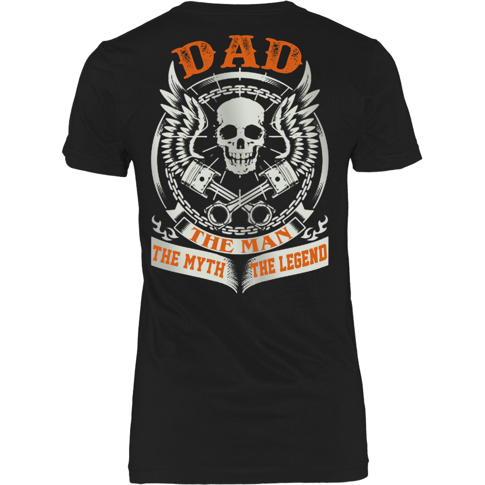 DAD The Man The Myth The Legend T Shirts, Tees & Hoodies - Dad Shirts - TeeAmazing