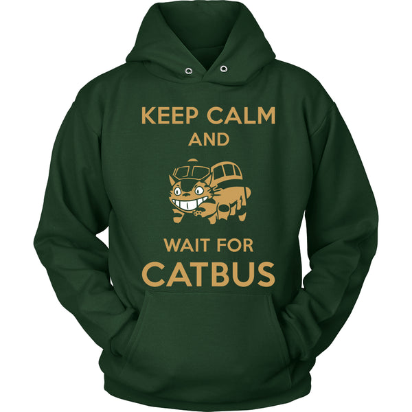 Keep Calm Catbus T Shirts, Tees & Hoodies - Totoro Shirts - TeeAmazing - 8