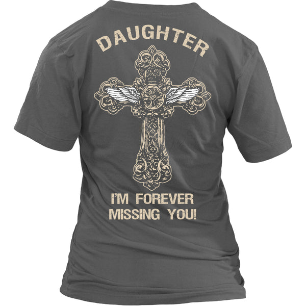 I'm Forever Missing You! Daughter T-Shirt - Family Shirt - TeeAmazing - 12