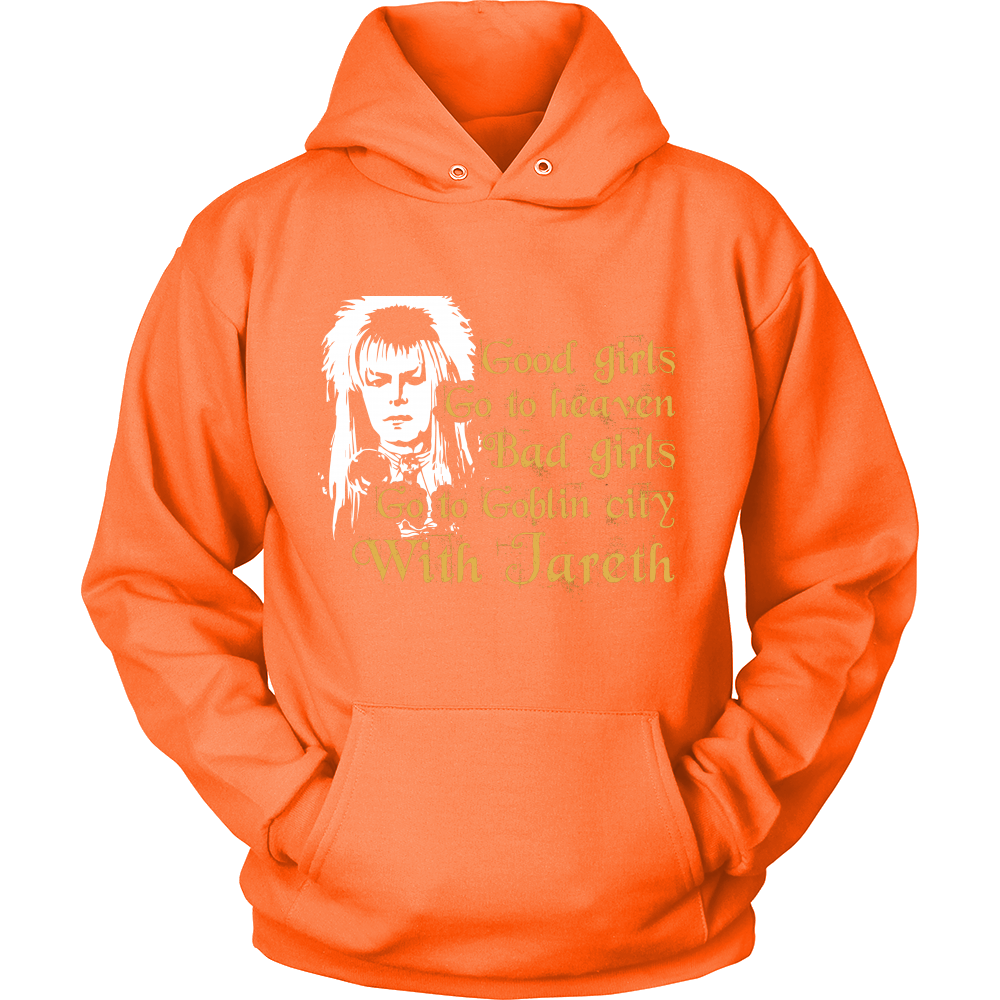 Bad Girls Go To Goblin City - Labyrinth Hoodie - TeeAmazing
