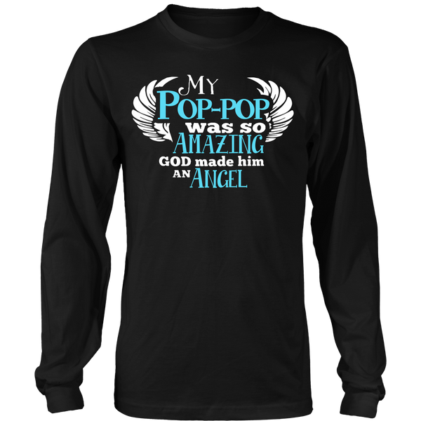 My Pop-pop Was So Amazing T Shirts, Tees & Hoodies - Grandpa Shirts - TeeAmazing - 6