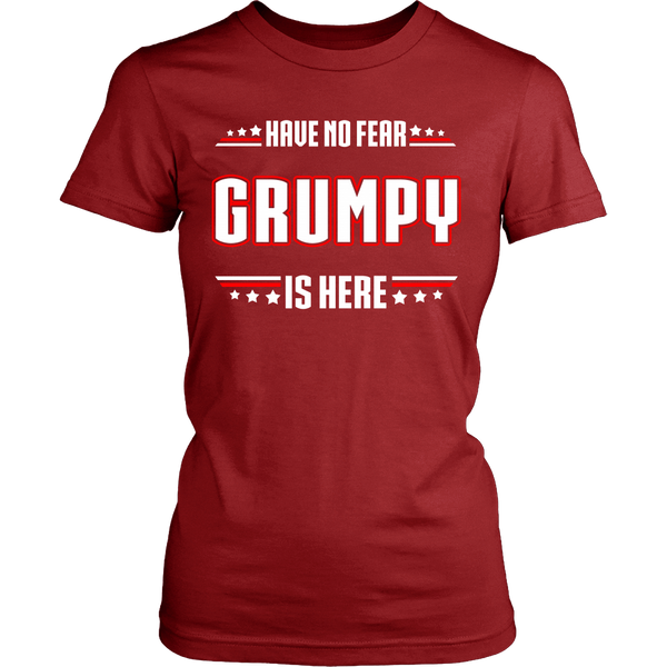Have No Fear Grumpy Is Here T-Shirt - Grumpy Shirt - TeeAmazing - 11