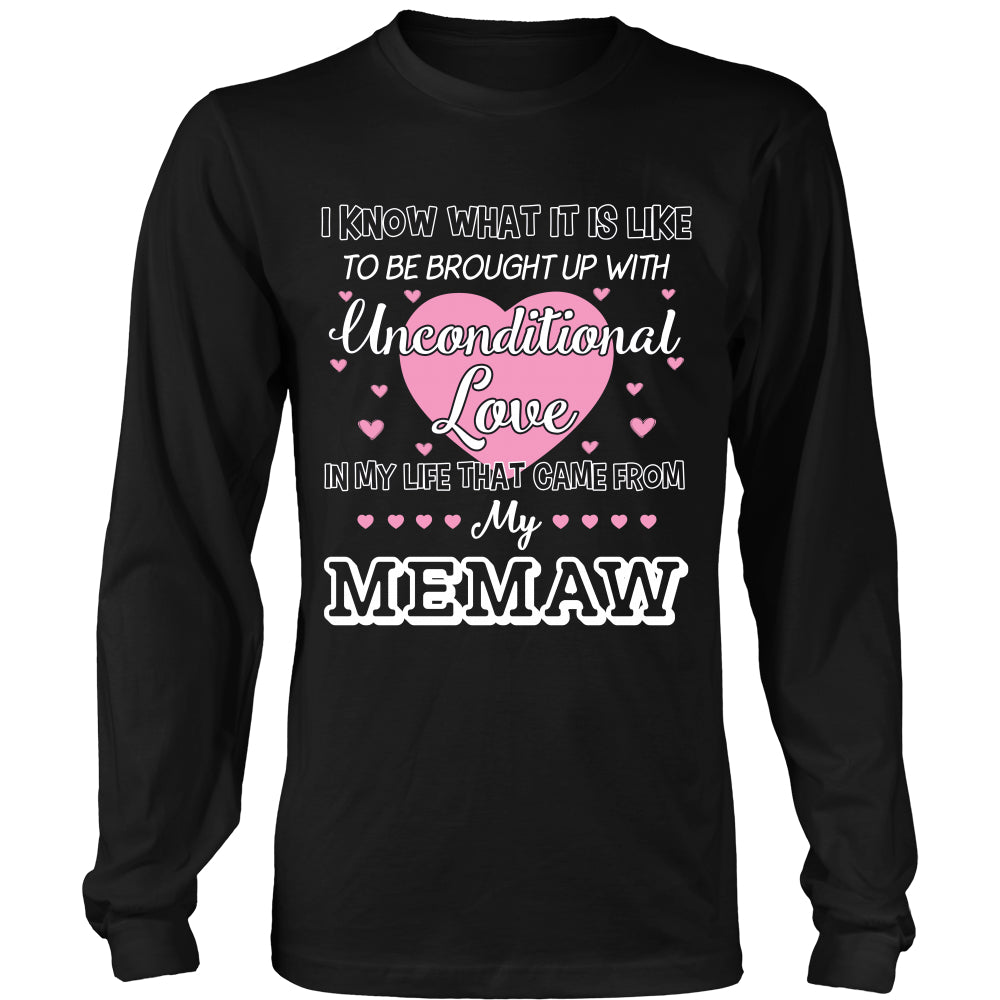 Uncondition Love Memaw T-Shirt - Memaw Shirt - TeeAmazing