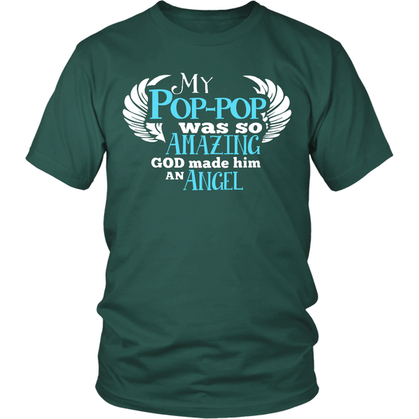 My Pop-pop Was So Amazing T Shirts, Tees & Hoodies - Grandpa Shirts - TeeAmazing - 3