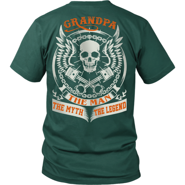 Grandpa The Man The Myth The Legend T Shirts, Tees & Hoodies - Grandpa Shirts - TeeAmazing - 3