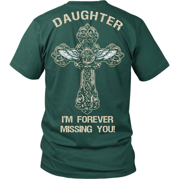 I'm Forever Missing You! Daughter T-Shirt - Family Shirt - TeeAmazing - 3