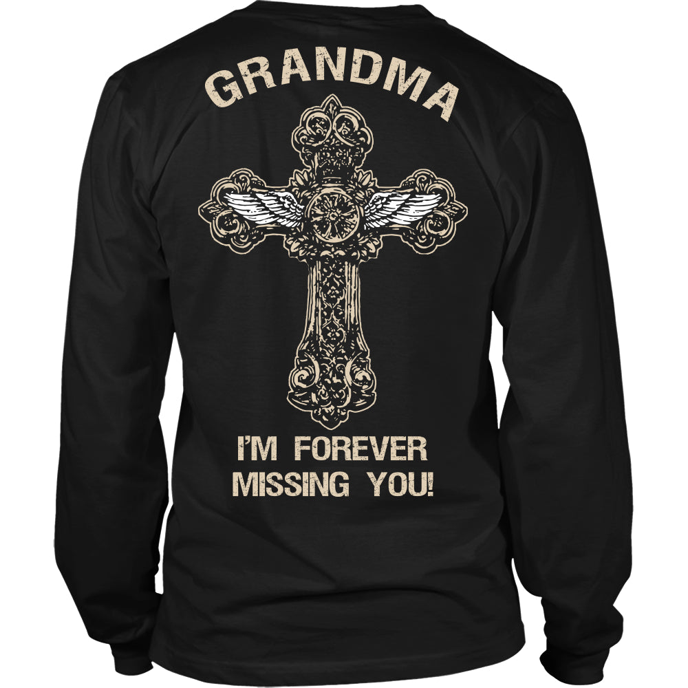 I'm Forever Missing You! Grandma T-Shirt - Family Shirt - TeeAmazing