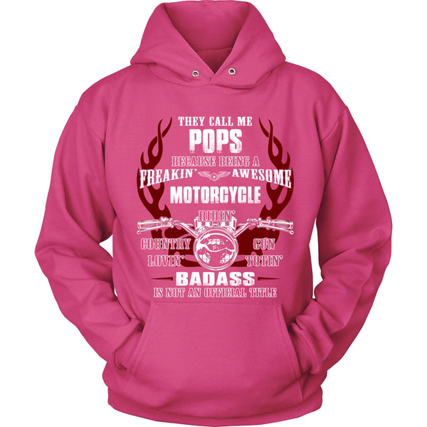 Badass Pops Motorcycle T-Shirt - Pops Motorcycle Shirt - TeeAmazing - 8