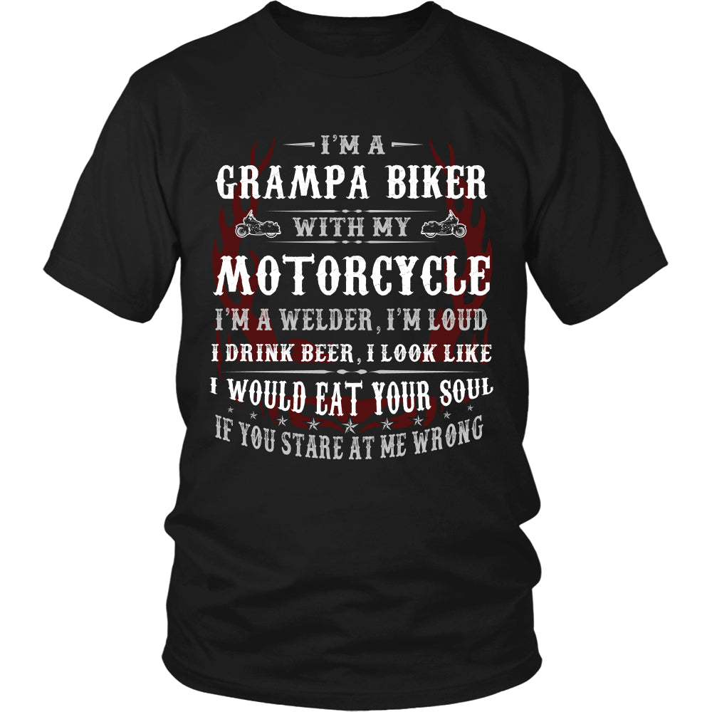 Three Things...My Motorcycle T-Shirt - Motorcycle Shirt DT6000