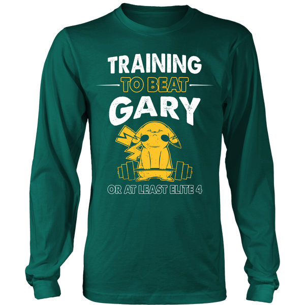 Training To Beat GARY T Shirts, Tees & Hoodies -  Pokemon Shirts - TeeAmazing - 6
