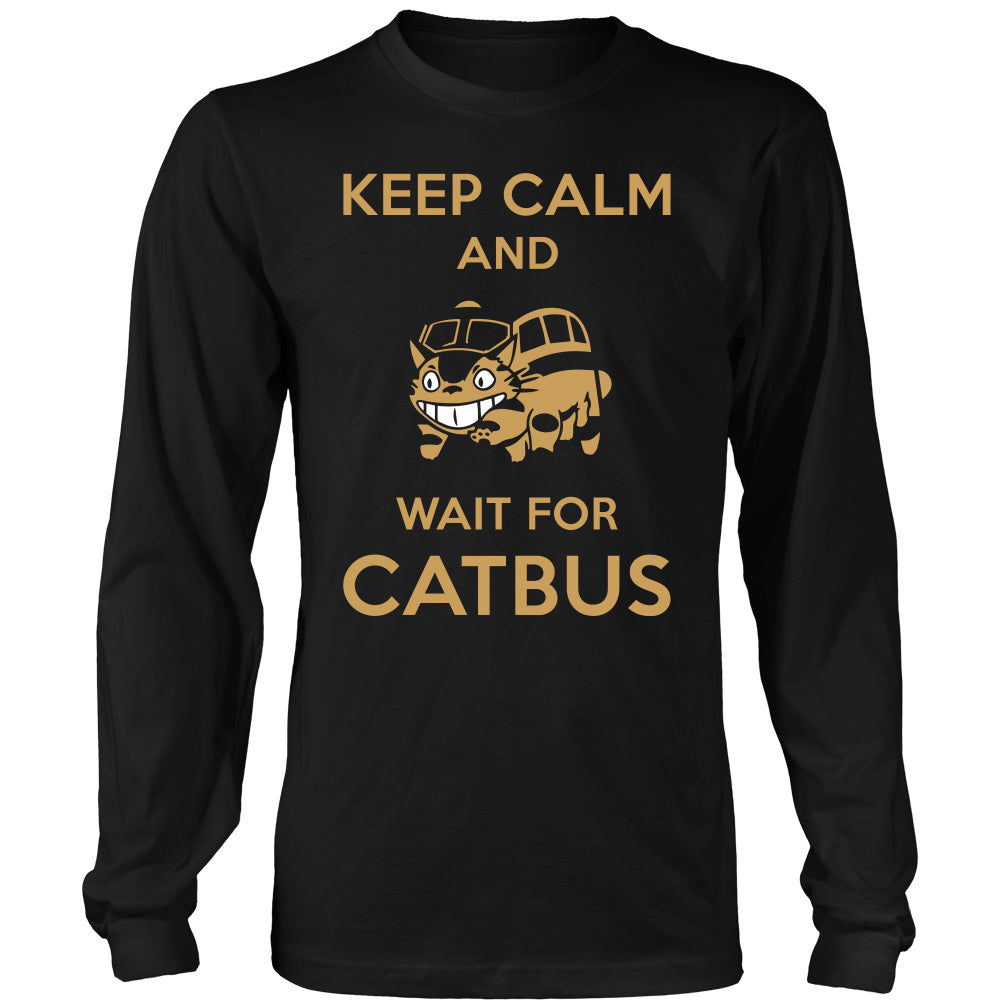 Keep Calm Catbus T Shirts, Tees & Hoodies - Totoro Shirts - TeeAmazing