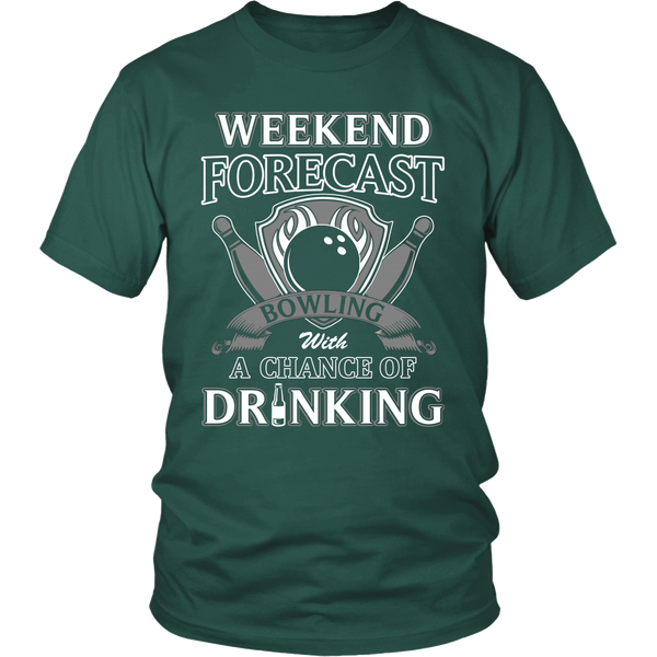 Bowling with Drinking T Shirts, Tees & Hoodies - Bowling Shirts - TeeAmazing - 4