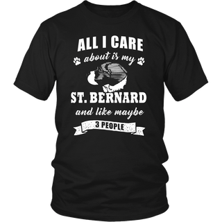 St. Bernard Dog T Shirts, Tees & Hoodies - St. Bernard Shirts - TeeAmazing - 1