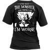 I'm Not The Monster You Think I Am T Shirts, Tees & Hoodies - Dragonball Shirts - TeeAmazing - 12