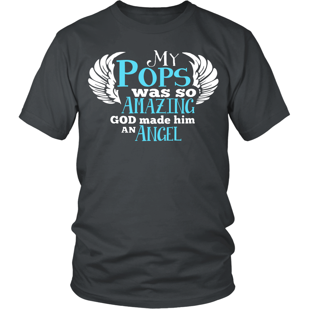My Pops Was So Amazing T Shirts, Tees & Hoodies - Grandpa Shirts - TeeAmazing