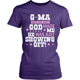 G-Ma Says That T-Shirt - G-Ma Shirt - TeeAmazing