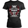 Badass Pops Motorcycle T-Shirt - Pops Motorcycle Shirt - TeeAmazing - 9