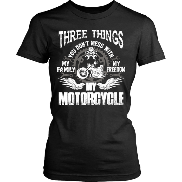 Three Things...My Motorcycle T-Shirt - Motorcycle Shirt - TeeAmazing - 9