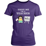 Trust Me I'm a Teacher Minion Women T-Shirt - Minion Shirt - TeeAmazing