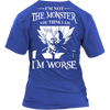 I'm Not The Monster You Think I Am T Shirts, Tees & Hoodies - Dragonball Shirts - TeeAmazing - 13