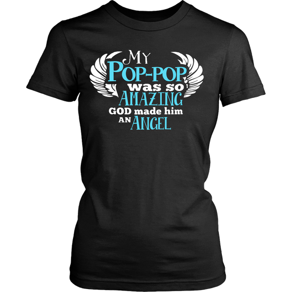 My Pop-pop Was So Amazing T Shirts, Tees & Hoodies - Grandpa Shirts - TeeAmazing - 9