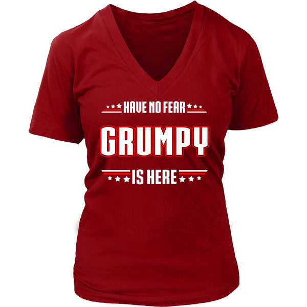 Have No Fear Grumpy Is Here T-Shirt - Grumpy Shirt - TeeAmazing - 12