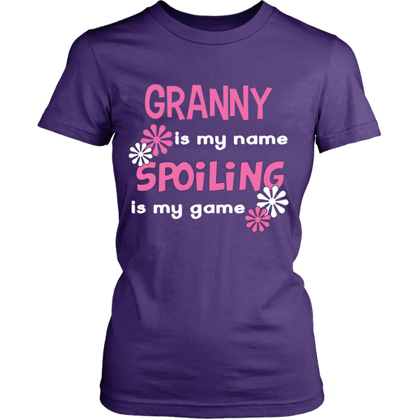 Granny Is My Name... T-Shirt - Granny Shirt - TeeAmazing - 10