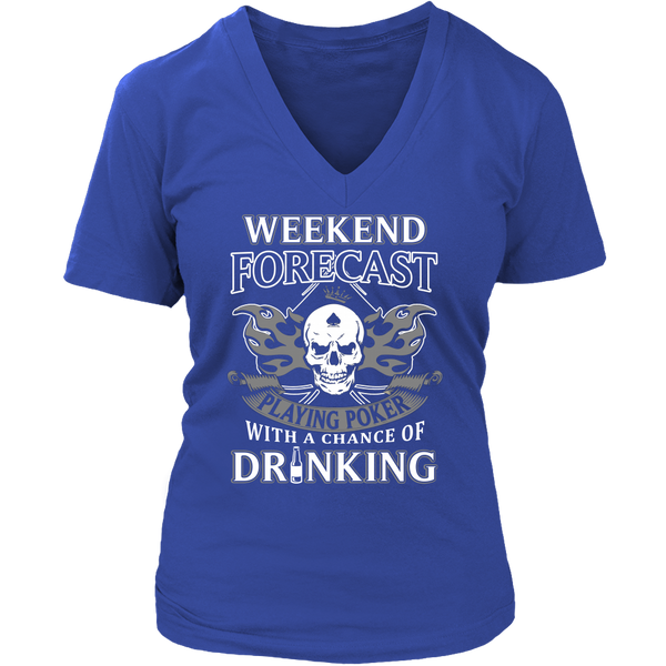Playing Poker with Drinking T Shirts, Tees & Hoodies - Poker Shirts - TeeAmazing - 13