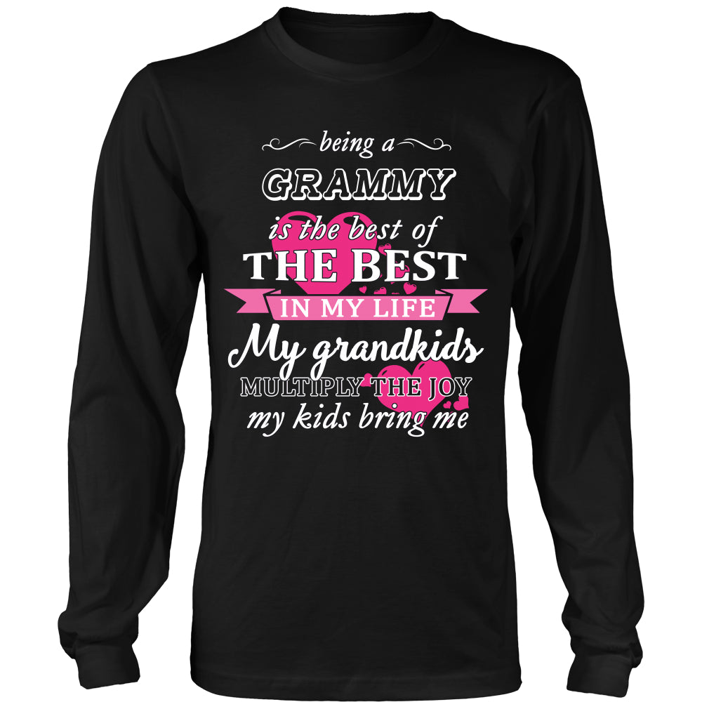 Being a Grammy Is The Best T-Shirt - Grammy Shirt - TeeAmazing