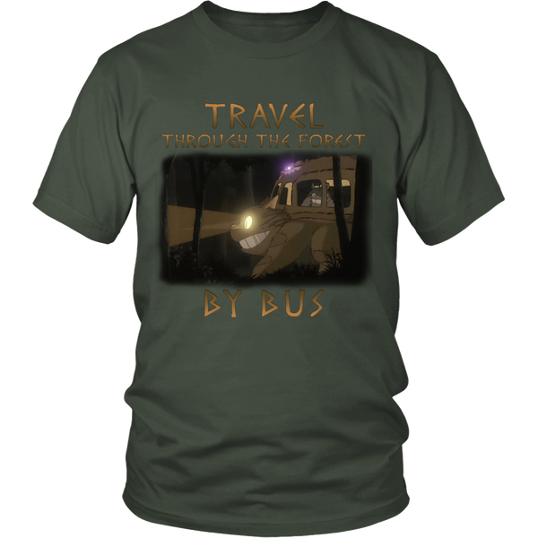 Travel Through The Forest By Bus T Shirts, Tees & Hoodies - Totoro Shirts - TeeAmazing - 4