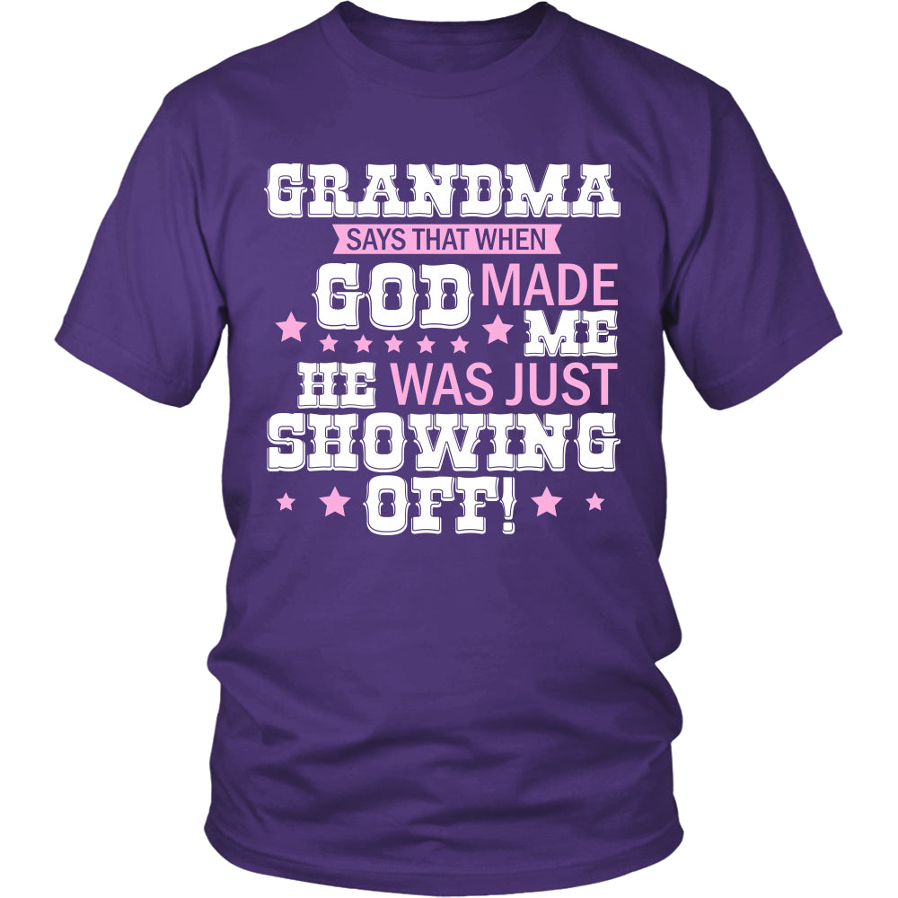 Grandma Says That T-Shirt - Grandma Shirt - TeeAmazing