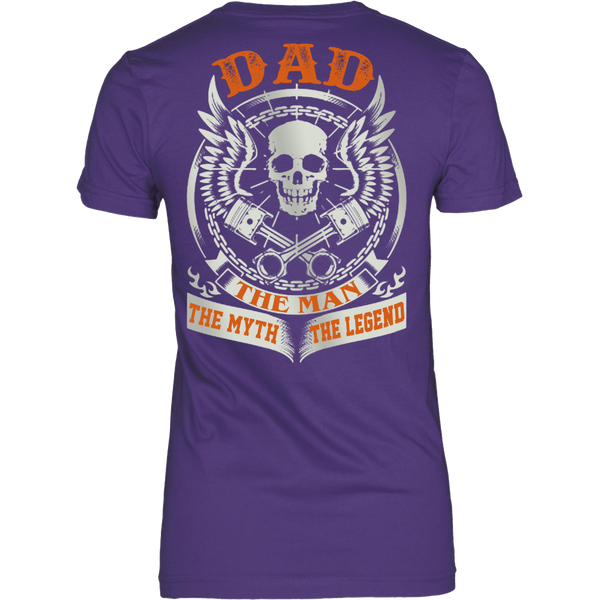 DAD The Man The Myth The Legend T Shirts, Tees & Hoodies - Dad Shirts - TeeAmazing - 10