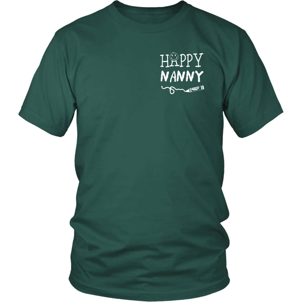 Happiness is Being Nanny T-Shirt - Nanny Shirt - TeeAmazing - 7