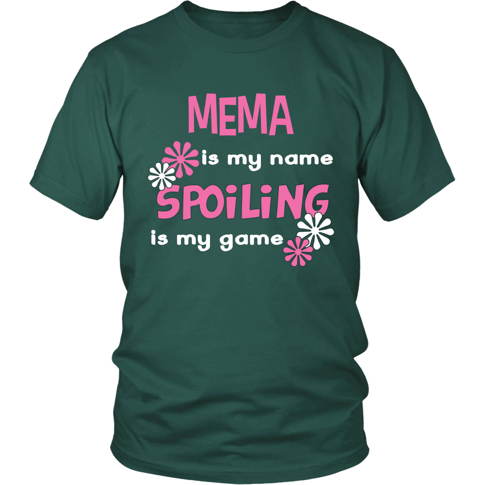Mema Is My Name... T-Shirt - Mema Shirt - TeeAmazing