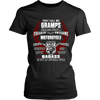 Badass Gramps Motorcycle T-Shirt - Gramps Motorcycle Shirt - TeeAmazing - 9