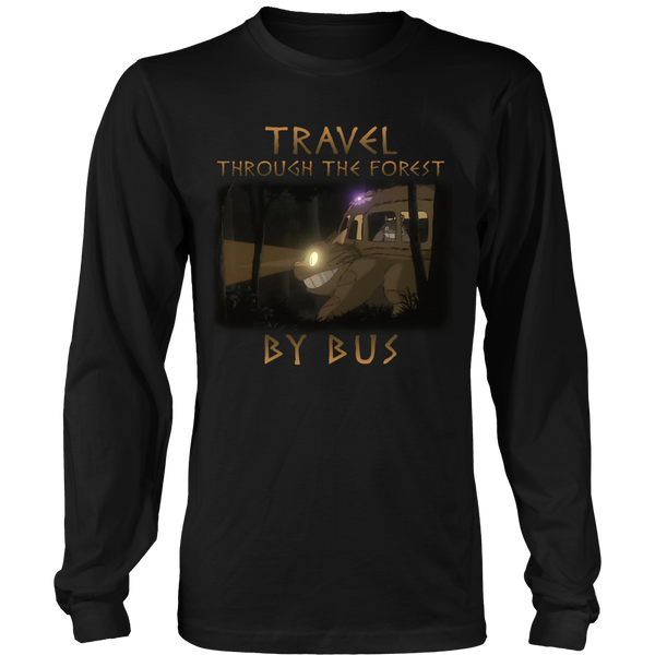 Travel Through The Forest By Bus T Shirts, Tees & Hoodies - Totoro Shirts - TeeAmazing - 5