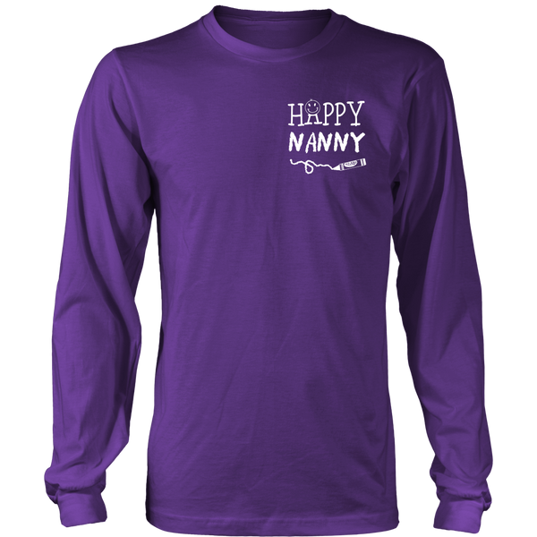 Happiness is Being Nanny T-Shirt - Nanny Shirt - TeeAmazing - 13