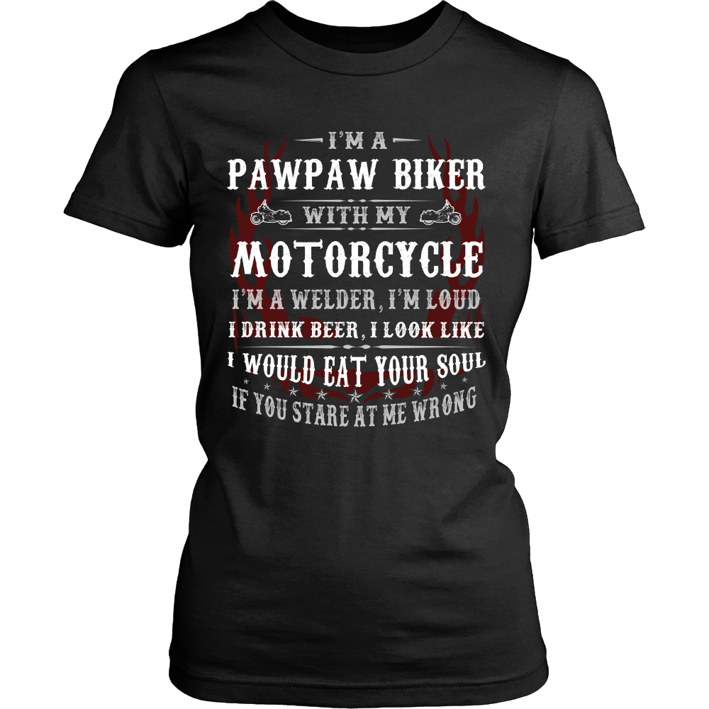 They Call Me Pops Motorcycle T-Shirt - Pops Motorcycle Shirt DM104L