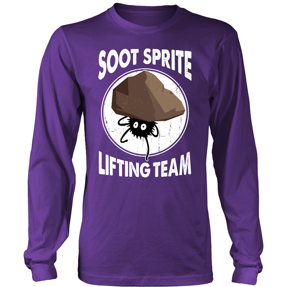 Soot Sprite Lifting Team T Shirts, Tees & Hoodies - Totoro Shirts - TeeAmazing