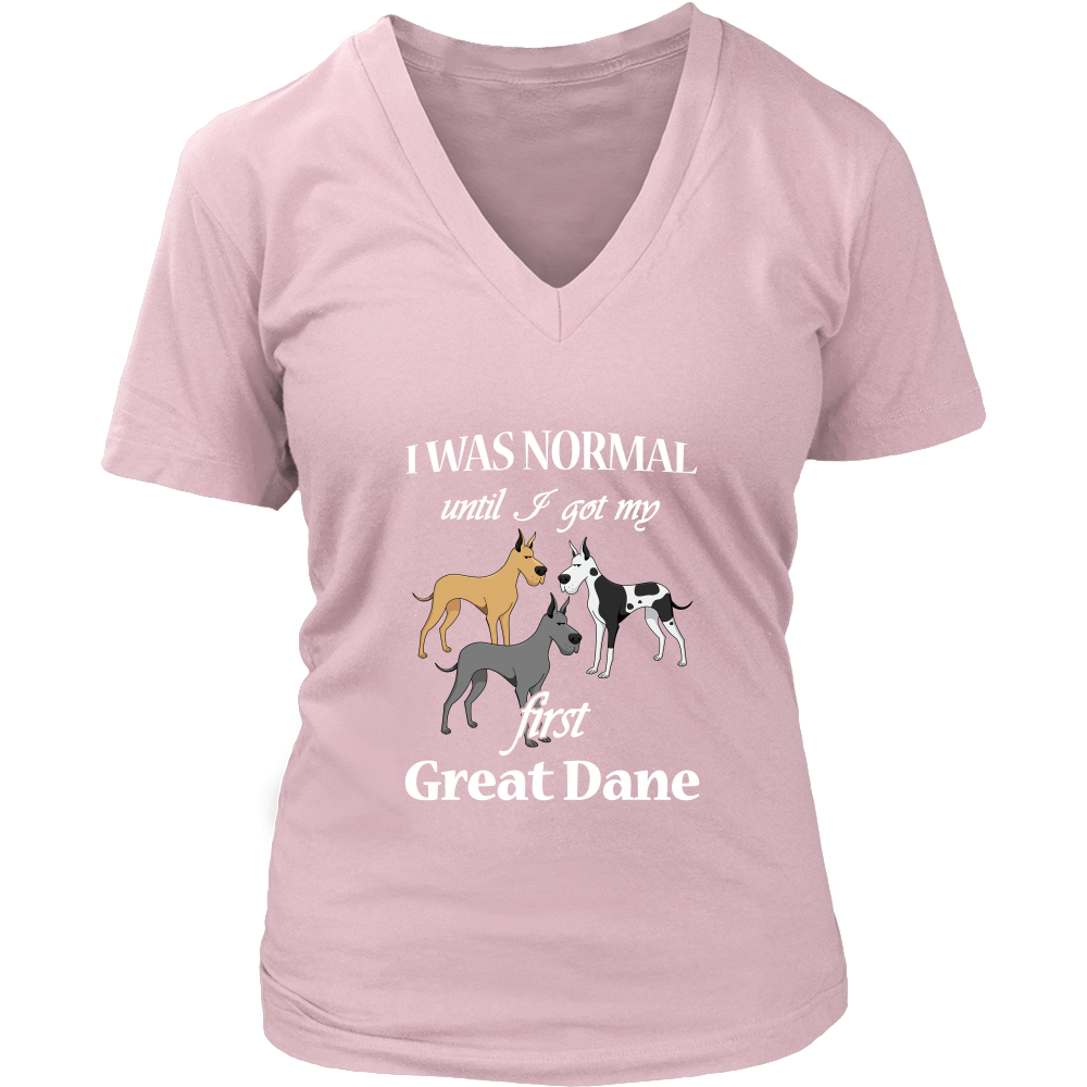 First Great Dane Dog T Shirts, Tees & Hoodies - Great Dane Shirts - TeeAmazing