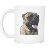 Bullmastiff Dog Mugs & Coffee Cups - Bullmastiff Coffee Mugs - TeeAmazing - 2