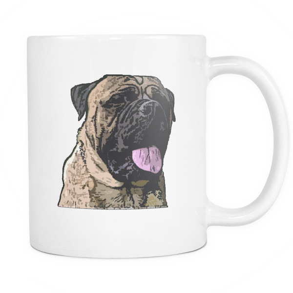 Bullmastiff Dog Mugs & Coffee Cups - Bullmastiff Coffee Mugs - TeeAmazing - 1