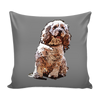 American Cocker Spaniel Dog Pillow Cover - American Cocker Spaniel Accessories - TeeAmazing - 2