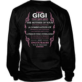 Description - GIGI Shirt - TeeAmazing