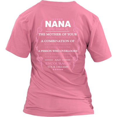 Description - NANA Shirt - TeeAmazing